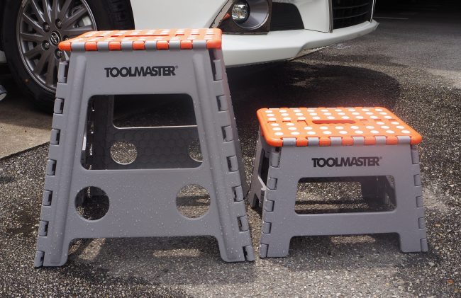 Outstanding Toolmaster Foldable Step Stool Onthecornerstone Fun Painted Chair Ideas Images Onthecornerstoneorg