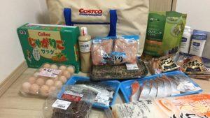 コストコお買い物日記!生鮮食品リピ買い多数の14点!乾燥対策のヴァセリンも購入してきました。