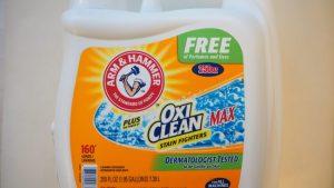 コストコ「オキシクリーンMAX 液体洗剤」汚れ落ちビフォーアフター写真あり♪液体になって使いやすさMAX!