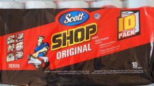 使い方公開♪コストコ「スコット ショップタオル」家じゅうのお掃除に最適!