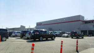 コストコ尼崎の駐車場の混雑状況とおすすめの時間帯