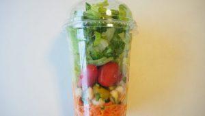 コストコ「ガーデンサラダ」野菜大盛りで280円♪フードコートおすすめメニュー♪